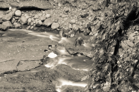 I love long exposures of moving water.