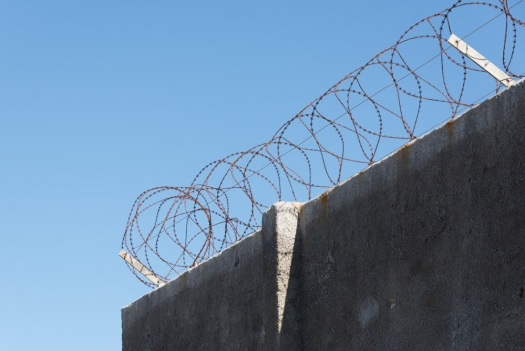 Rusted barbed wires around Robben Island are just one of the reminders of its very sad past.