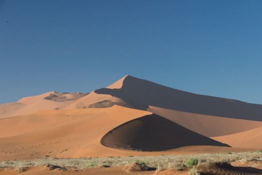 One of the dunes at Sossusvlei.