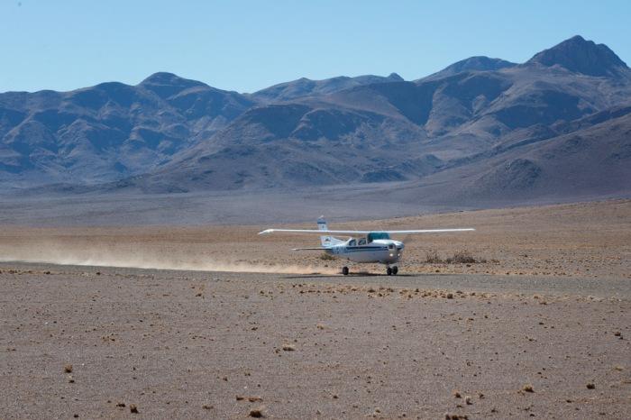 Desert take off.